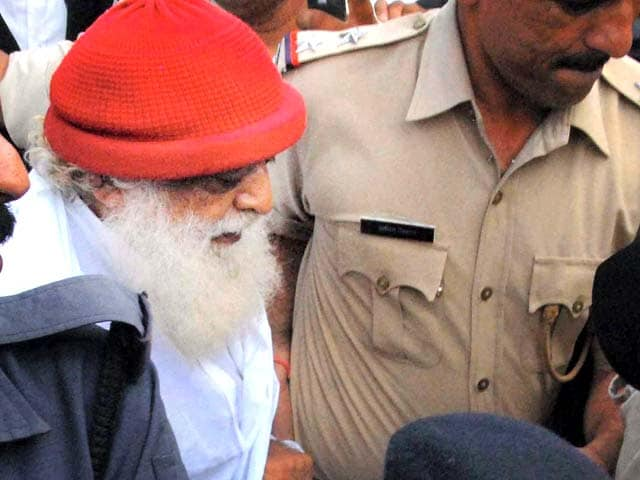 Video : Asaram Bapu sent to jail for 14 days in sexual assault case