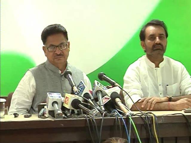 Video : Congress targets Narendra Modi over Prajapati encounter case