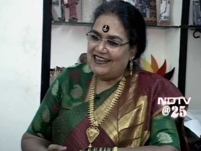 Video : When NDTV talks about it, you listen: Usha Uthup