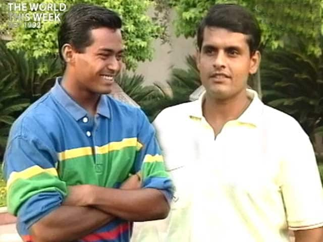 Video : The World This Week: Before Lee-Hesh, there was Lee-Ramesh (Aired: September 1992)