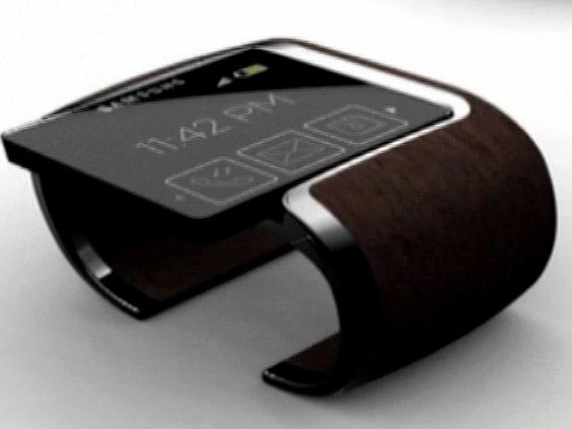 Video : Samsung launches Galaxy Gear smartwatch