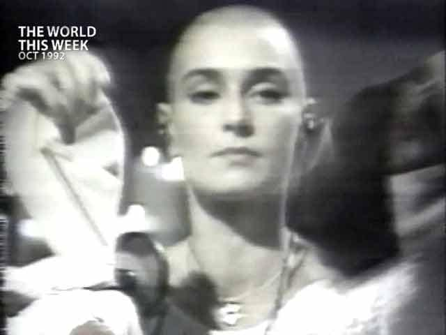Video : The World This Week: Nothing compares to Sinead? (Aired: October 1992)