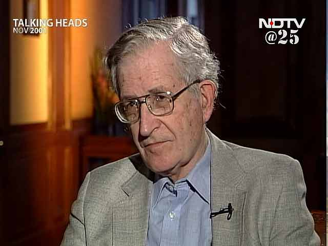 Video : Talking Heads with Professor Naom Chomsky (Aired: November 2001)