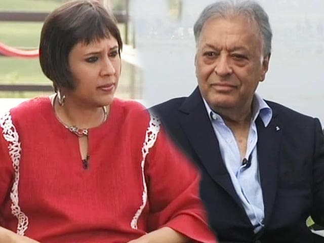 Video : Will return to Kashmir if it wants me: Zubin Mehta to NDTV