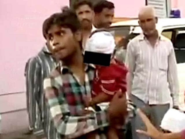 Video : Two riot-hit children in Muzaffarnagar reunited with family