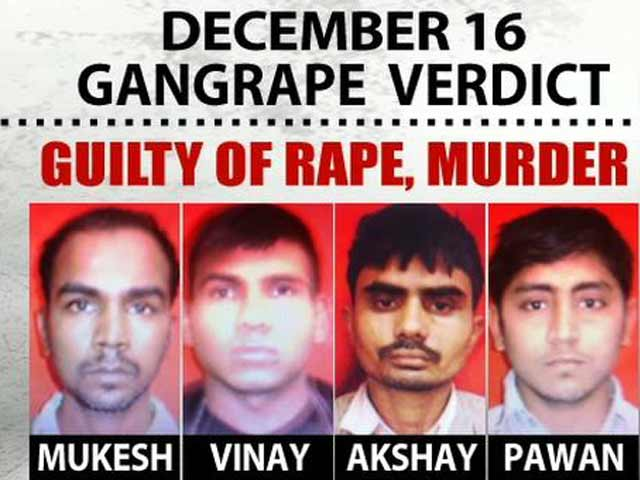 Video : Delhi gang-rape verdict: Four men found guilty to be sentenced tomorrrow