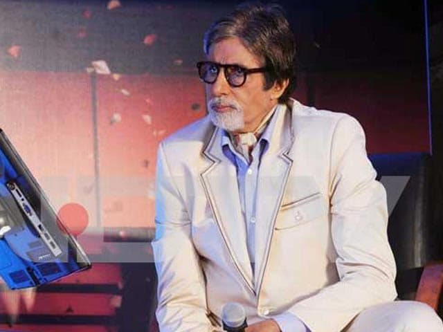 Video : Big B to attend charity reception in UK