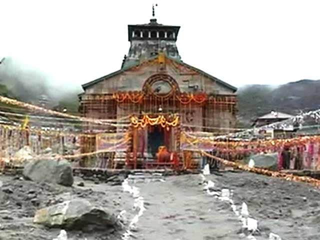 Video : After nearly three months, prayers resume at Kedarnath temple