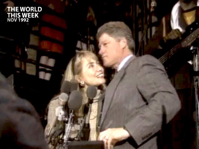 Video : The World This Week: Two Presidents for the price of one (Aired: November 1992)