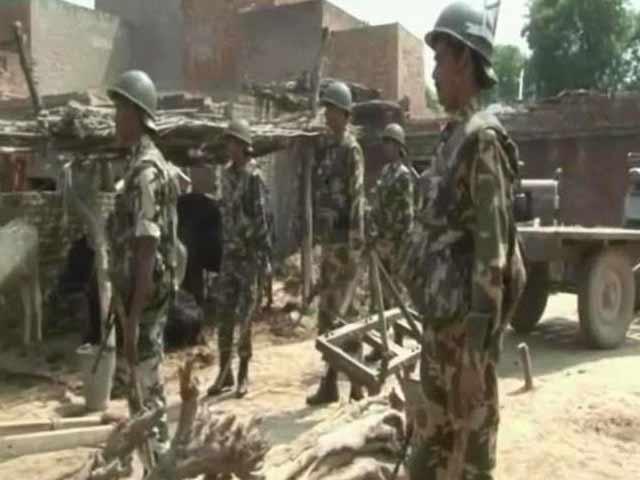 Video : Muzaffarnagar violence: Clashes in neighbouring Baghpat, AK-47 cartridges found