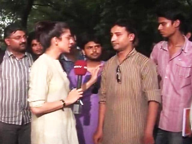 Video : Delhi University's crackdown before polls