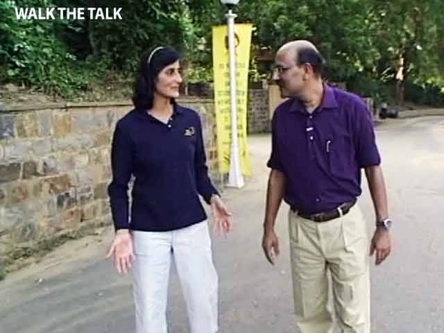 Video : Walk The Talk: Sunita Williams (Aired: October 2007)