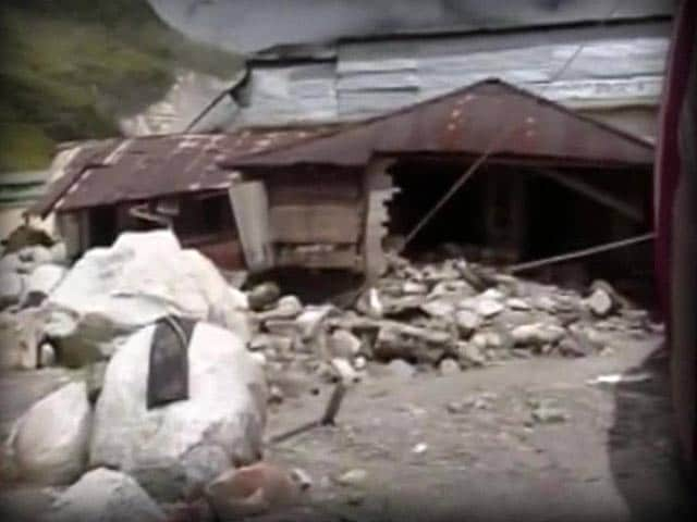 Video : At Kedarnath, hope and despair among returning residents