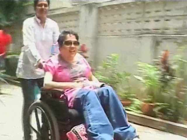 Video : Madras university denies admission to disabled student