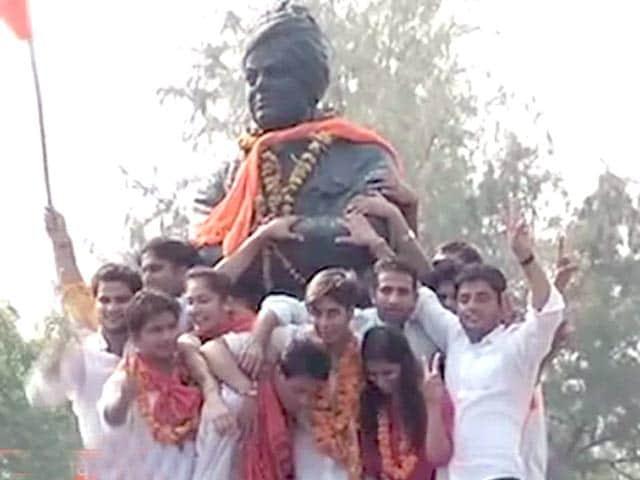 Videos : डीयू छात्र संघ चुनाव में एबीवीपी का परचम