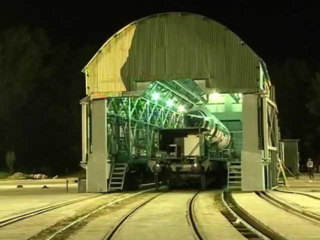 Video : 'अग्नि-5' मिसाइल का सफल परीक्षण