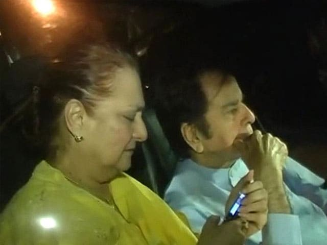Video : Veteran actor Dilip Kumar hospitalised, now stable