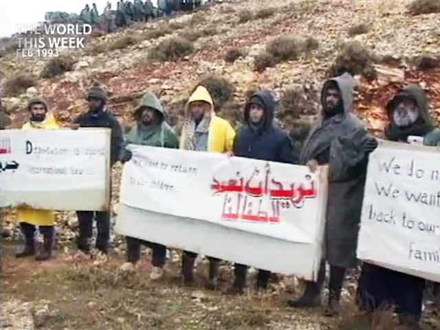 Video : The World This Week: Deadlock continues over deportation of 400 Palestinians (Aired: February 1993)