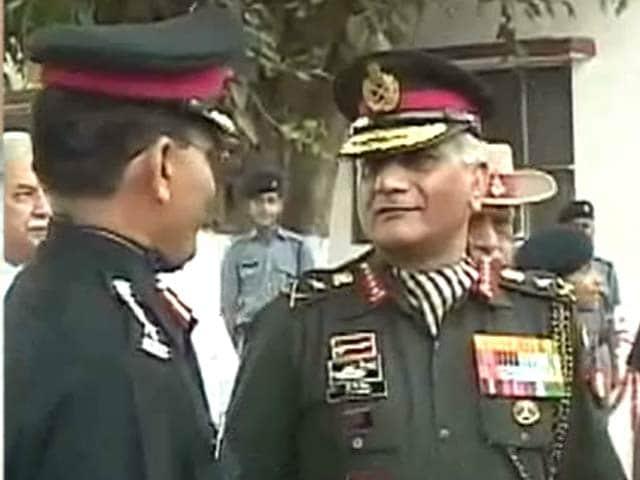 Videos : जम्मू-कश्मीर के मंत्रियों को सेना देती है पैसा : वीके सिंह