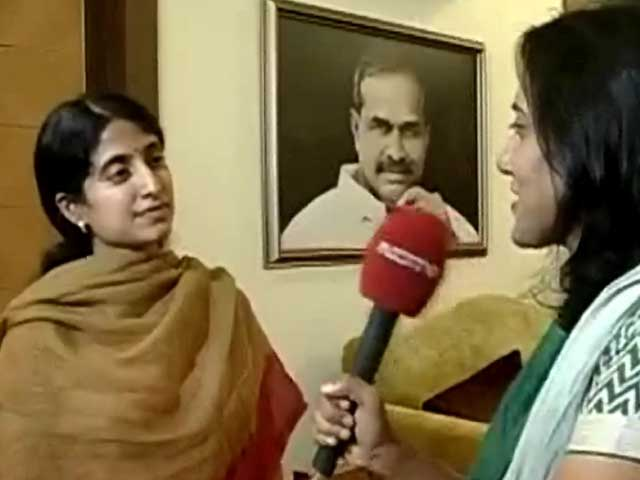 Video : 'Nervous' rivals wanted Jagan to be in jail, says his wife