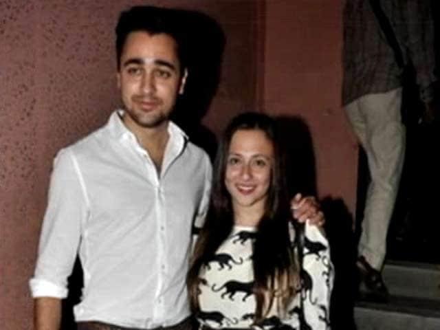 Video : Imran's play date with wife Avantika