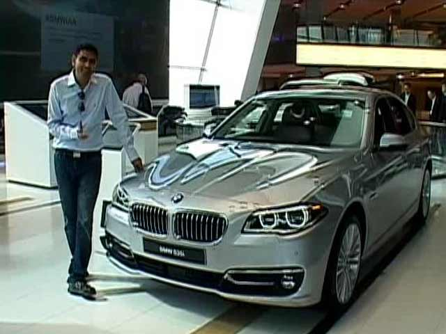Video : Inside BMW HQ for new 5 series
