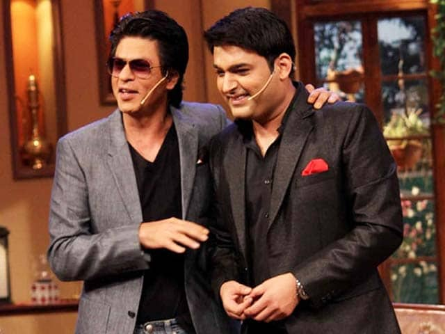 Video : SRK comes to <i>Comedy Nights with Kapil</i>'s rescue