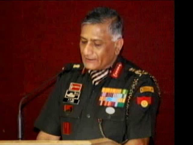 Video : Supreme Court contempt notice to former army chief VK Singh on age row