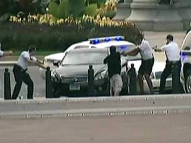 Video : Lethal car chase near White House ends with driver's death
