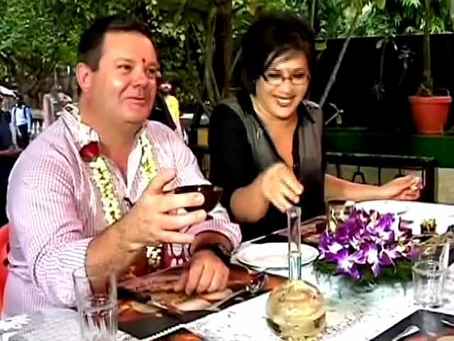 Video : MasterChef Gary's day out!