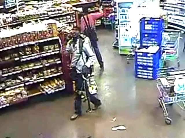 Video : CCTV footage shows four attackers in Kenya mall