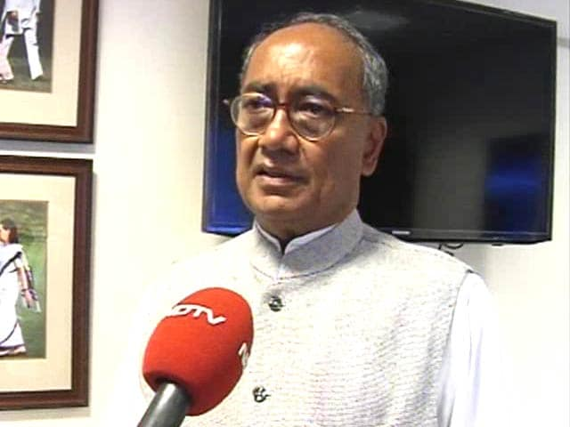 Video : Congress can't go back on its decision on Telangana: Digvijaya Singh