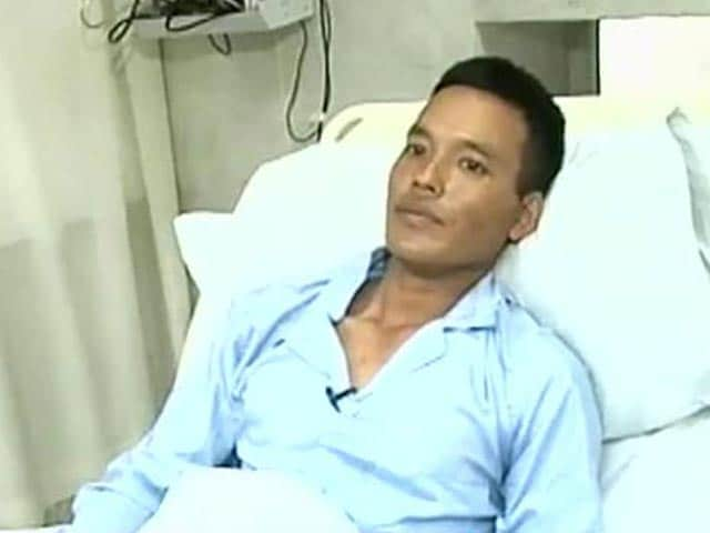 Video : Want to return to frontline & fight: injured soldiers to NDTV