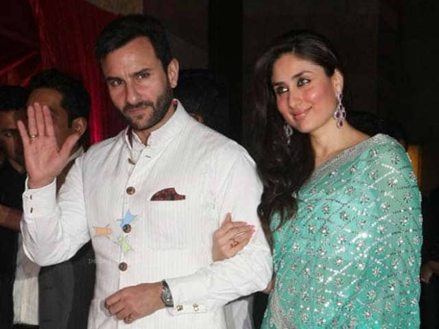 Video : Kareena, Saif to celebrate first anniversary in London