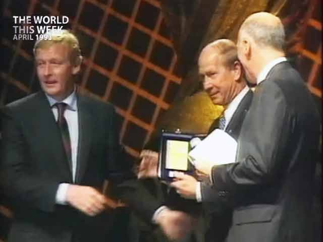 Video : The World This Week: A great name from a great game (Aired: April 1993)