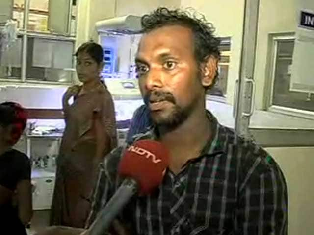 Video : Telangana crisis: let hospitals function, appeals hapless father
