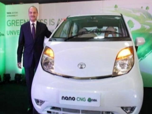 Video : CNG version of Tata Nano launched at Rs. 2.52 lakh