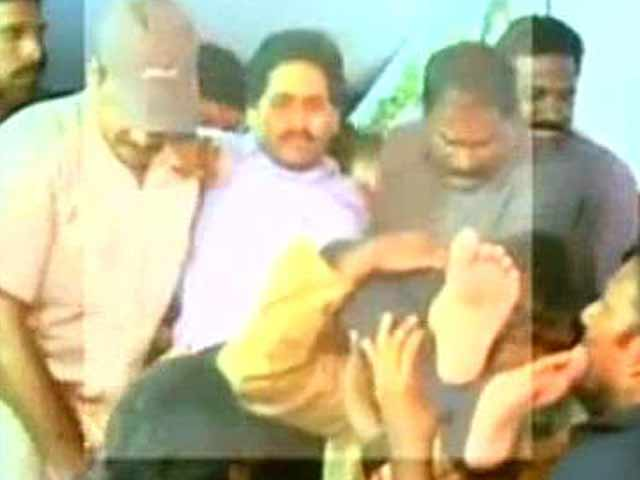 Video : Jagan Reddy taken into preventive custody after 5-day fast, force-fed