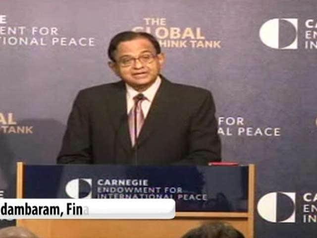Video : India will vote my govt back to power, says Chidambaram