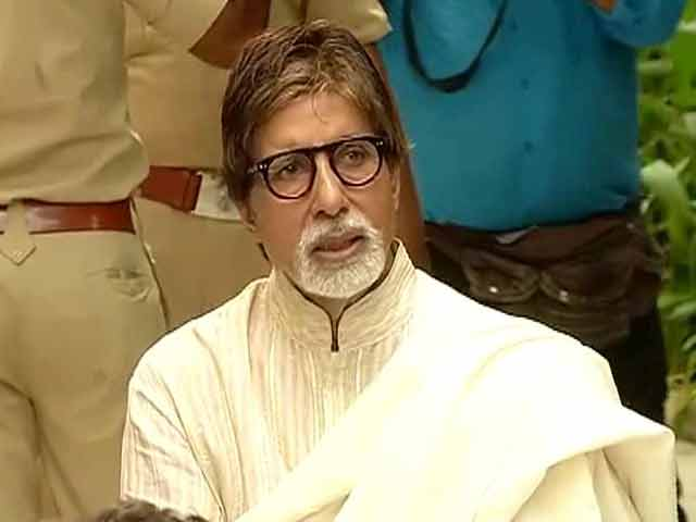 Video : Want to work till my last breath: Amitabh Bachchan