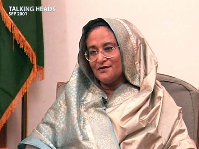 Video : Talking Heads with Sheikh Hasina (Aired: September 2001)