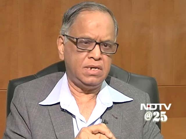 Video : Continue to be fearless and fair: Narayanamurthy