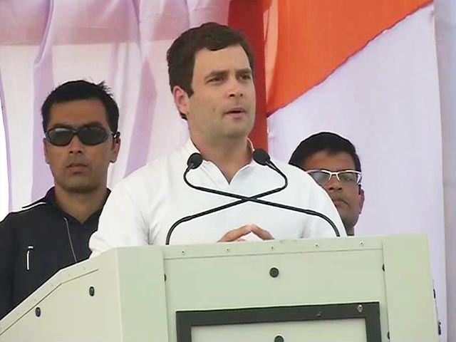 Video : My mother had tears in her eyes, she wanted to vote for Food Bill: Rahul Gandhi