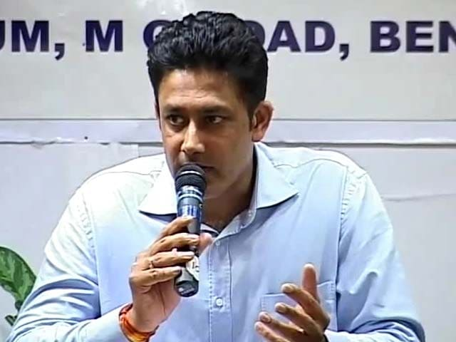 Video : Karnataka cricket chief Anil Kumble opts out of second innings