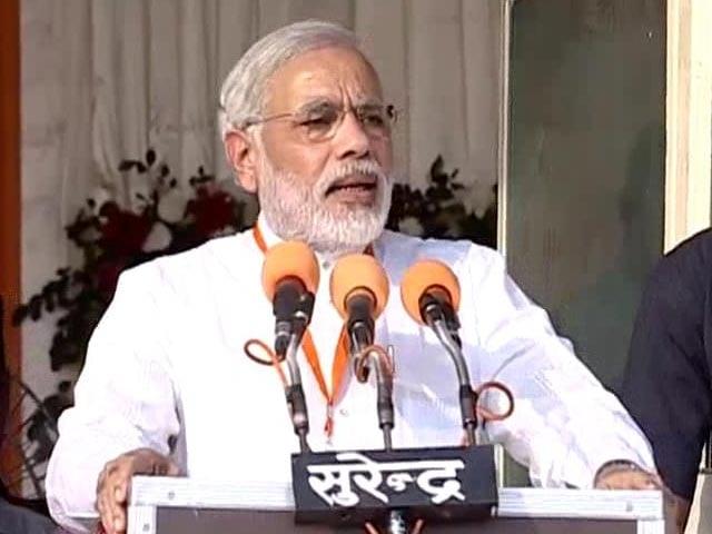 "Video : At Kanpur rally, Narendra Modi attacks ""shehzada"" Rahul Gandhi, food bill"