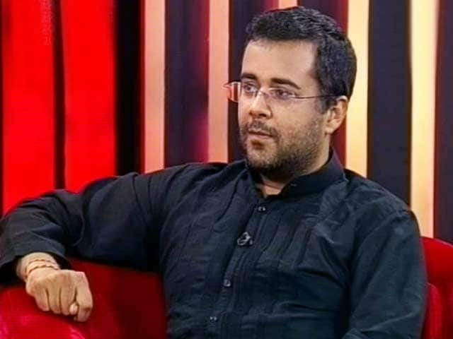 Video : In conversation with Chetan Bhagat (Aired: August 2009)