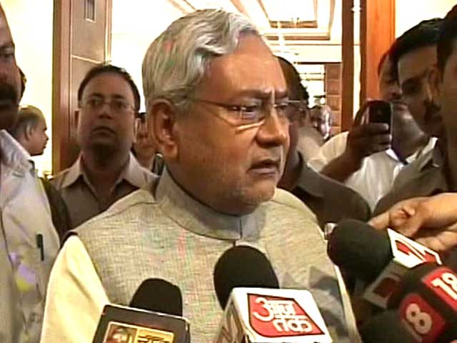 Video : Nitish Kumar's pitch for Bihar special status: even CII backs our demand