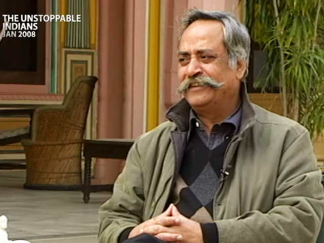 Video : The Unstoppable Indians: Piyush Pandey (Aired: January 2008)