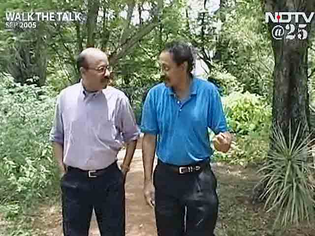 Video : Walk The Talk: Dr V S Ramachandran (Aired: September 2005)