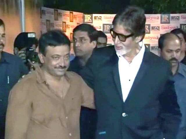 It's reconciliation time for Big B, Ram Gopal Varma